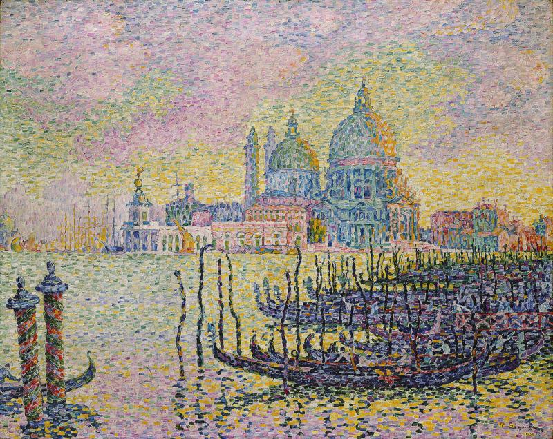 Signac, Grand canal, Venetië