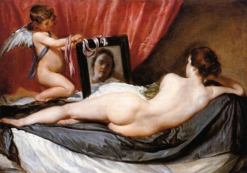 Velázquez, Venus met spiegel