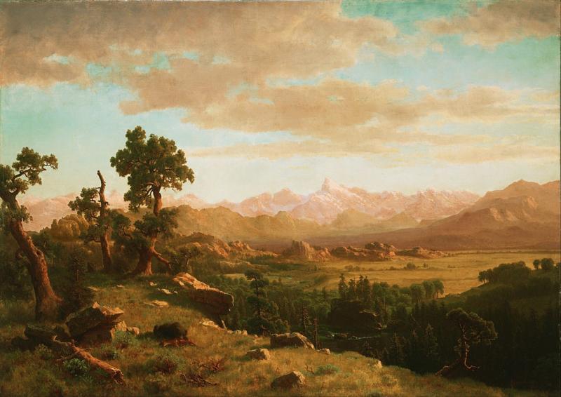 Bierstadt, Wind River County