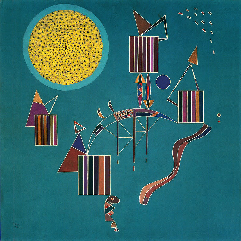 Kandinsky, Intime message