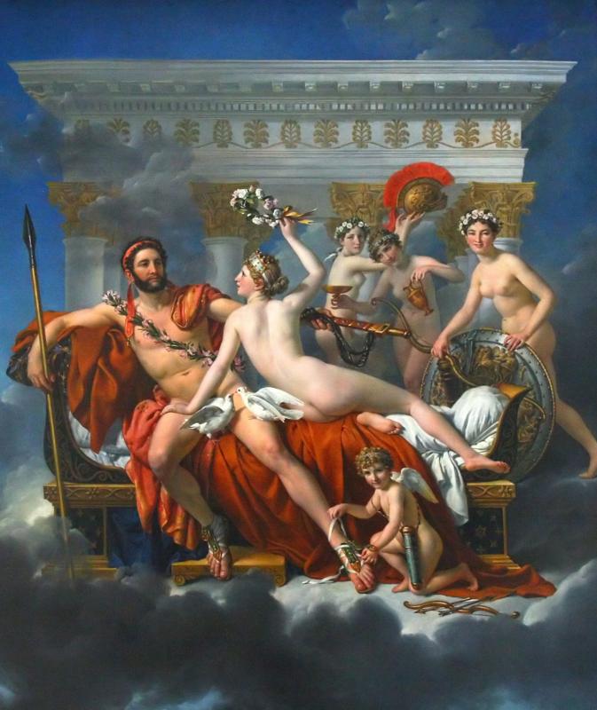 David, Mars ontwapend door Venus