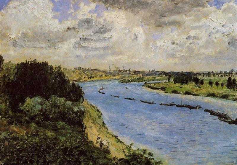 Renoir, Aken op de Seine