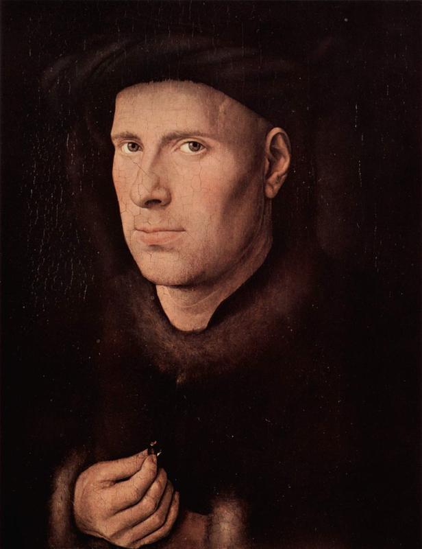 Van Eyck, Portret van Jan de Leeuw