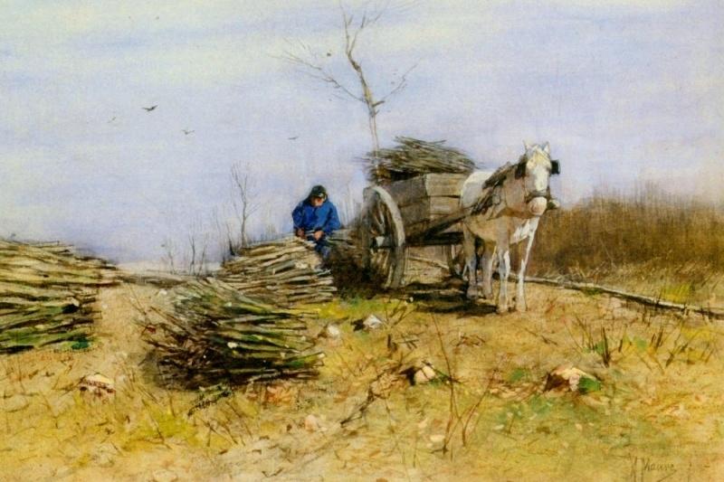 Mauve, De houtsprokkelaar