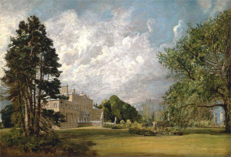 Constable, Malvern Hall in Warwickshire
