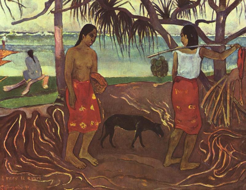 Gauguin, Onder de pandan