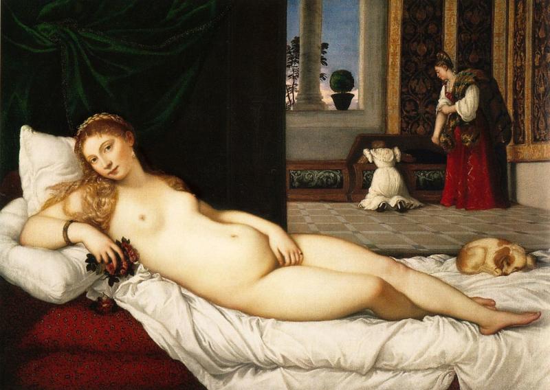 Titiaan, Venus van Urbino