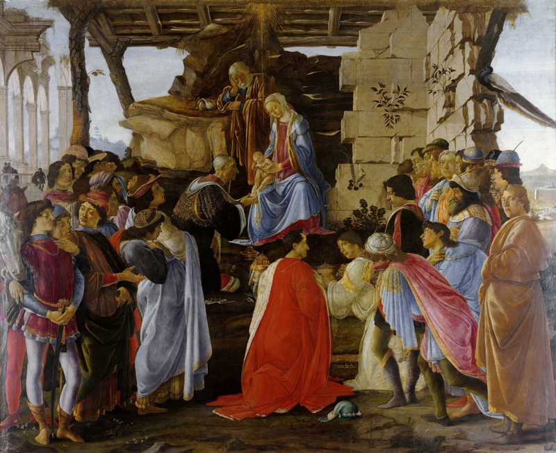 Botticelli, Aanbidding der wijzen