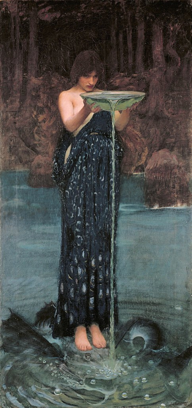 Waterhouse, Circe Invidiosa