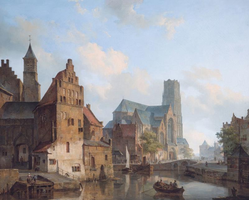 Springer, Delftse Vaart in Rotterdam