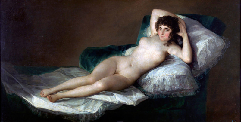 Goya, De naakte Maja