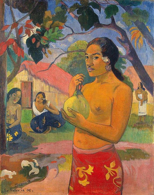 Gauguin, Vrouw met fruit