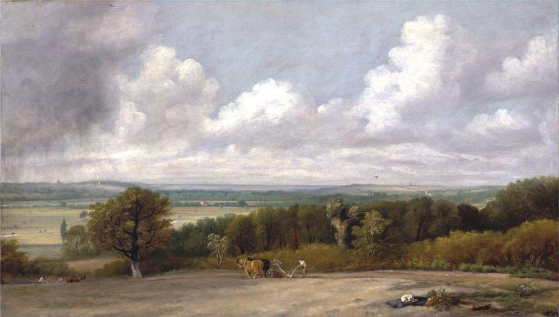 Constable, Ploegscene in Suffolk