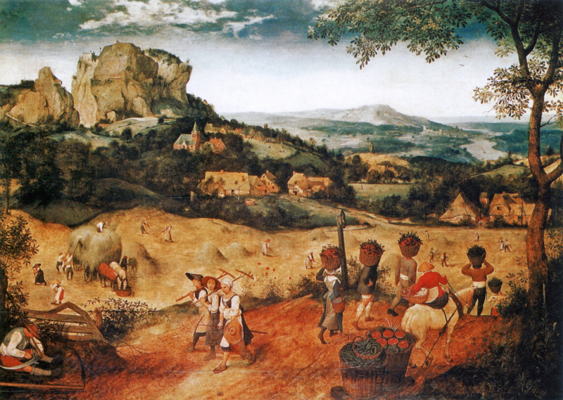 Bruegel, De hooioogst