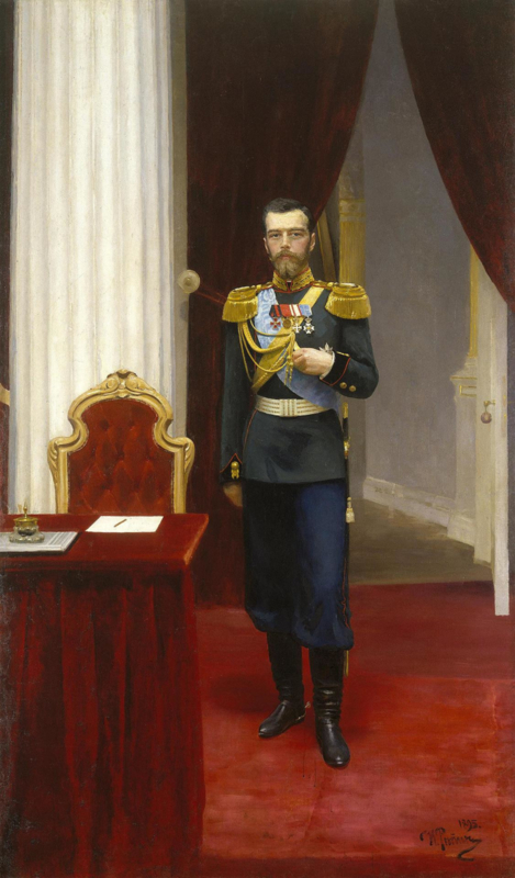 Repin, Tsaar Nicolaas 2