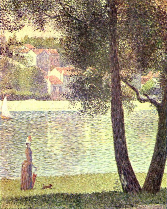 Seurat, De Seine bij Courbevoie