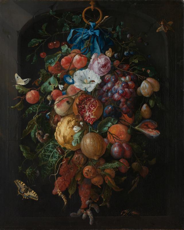 De Heem, Festoen van vruchten en bloemen