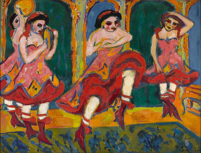 Kirchner, Csardas danseressen