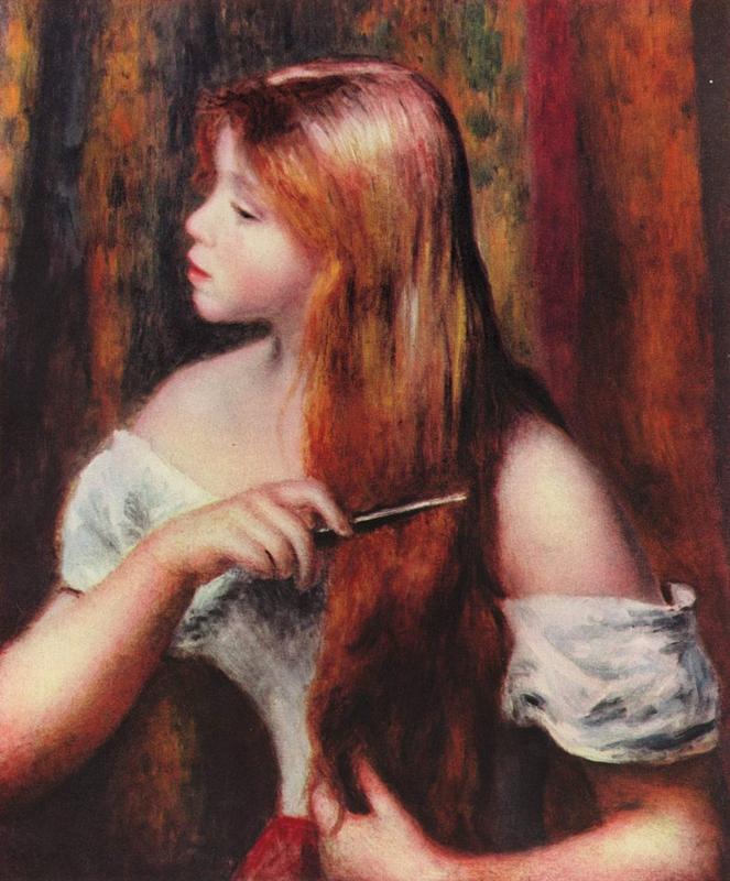 Renoir, Meisje dat haar haar kamt