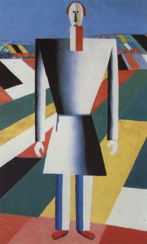 Malevich, Boer op de akkers