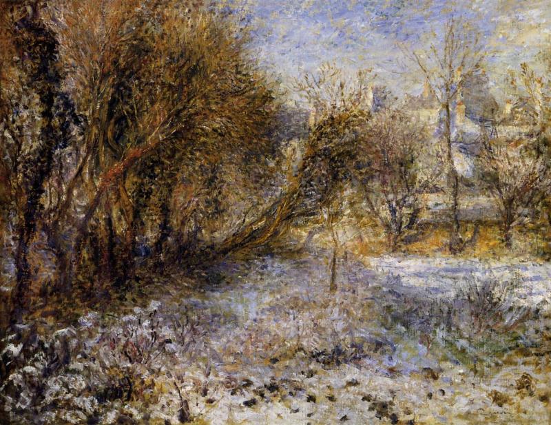 Renoir, Sneeuwlandschap