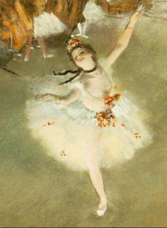 Degas, De primadonna