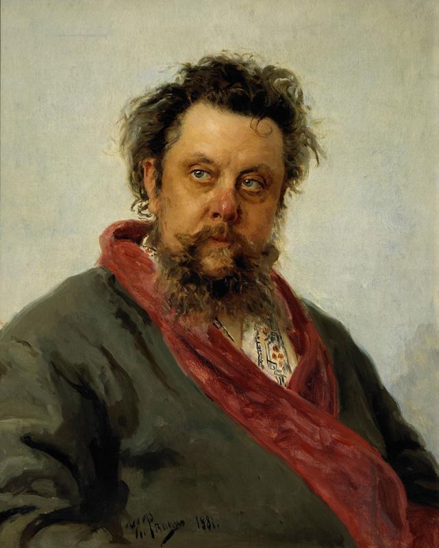 Repin, Modest Moessorgski