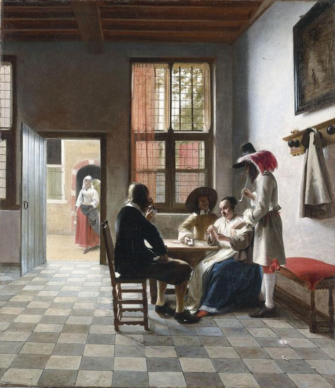 De Hooch, Kaartspelers