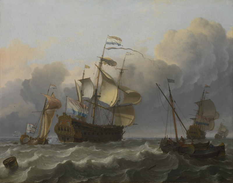 Bakhuysen, Hollands vlaggenschip