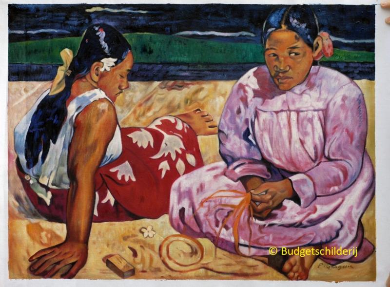 Gauguin, Vrouwen in Tahiti