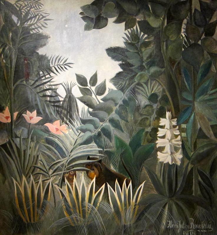 Rousseau, De Equadoriaanse jungle