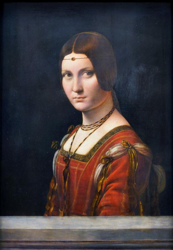 Da Vinci, Portret van een vrouw