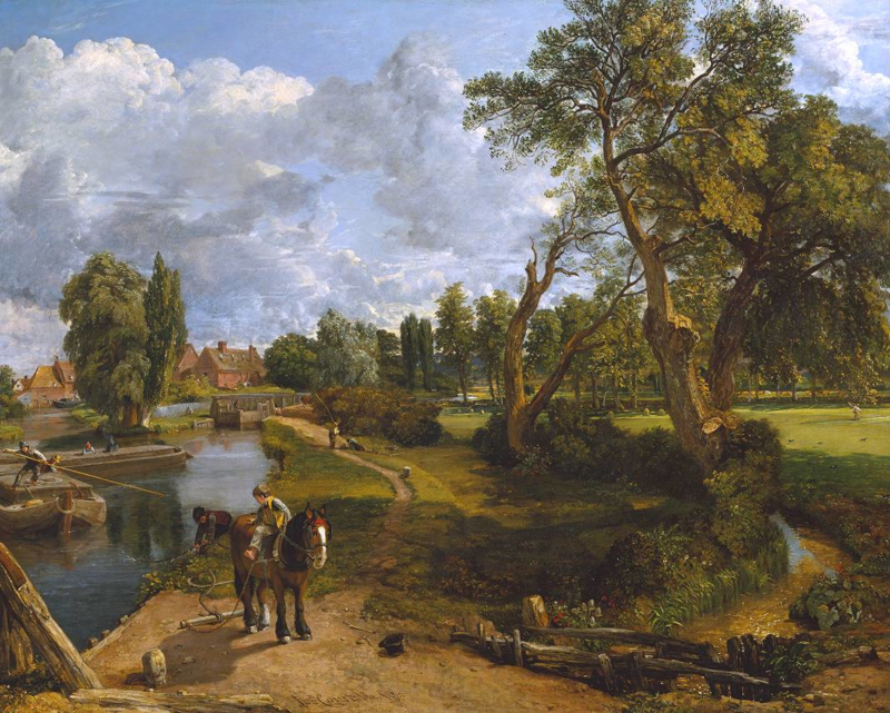 Constable, De molen van Flatford