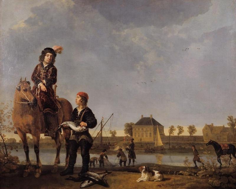 Cuyp, Portret van Pieter de Roovere