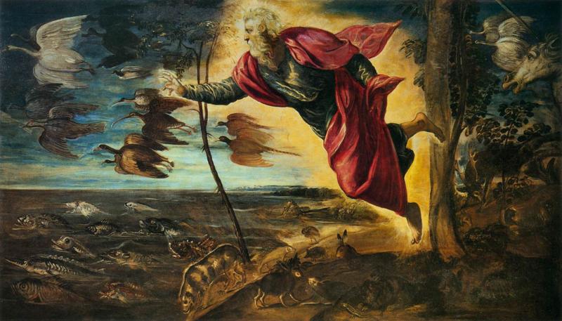 Tintoretto, De schepping van de dieren