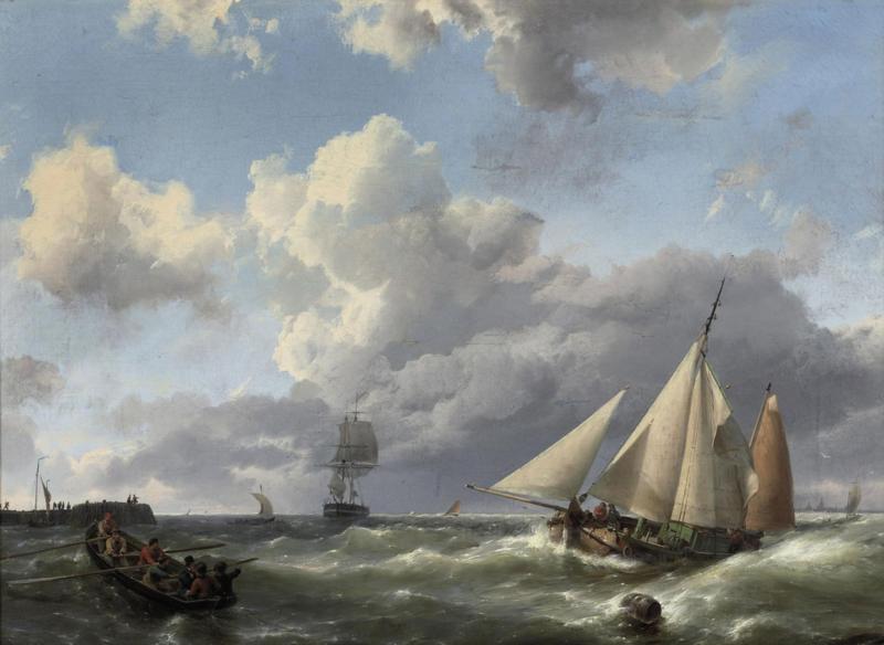 H. Koekkoek, Naar de haven