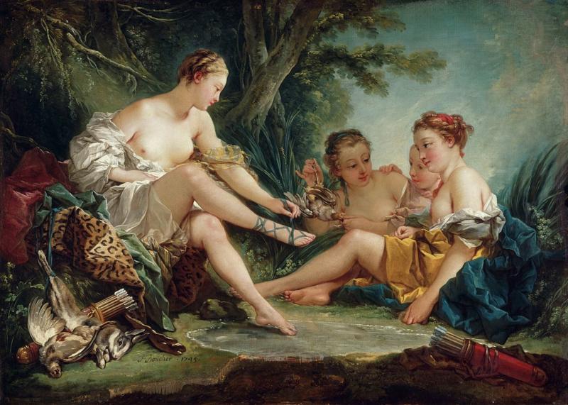 Boucher, Diana na de jacht