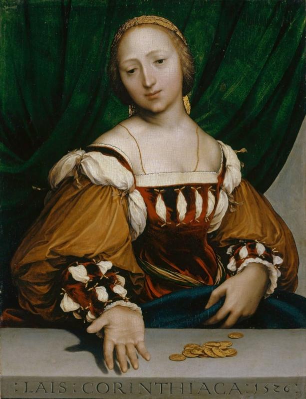 Holbein, Lais Corinthiaca