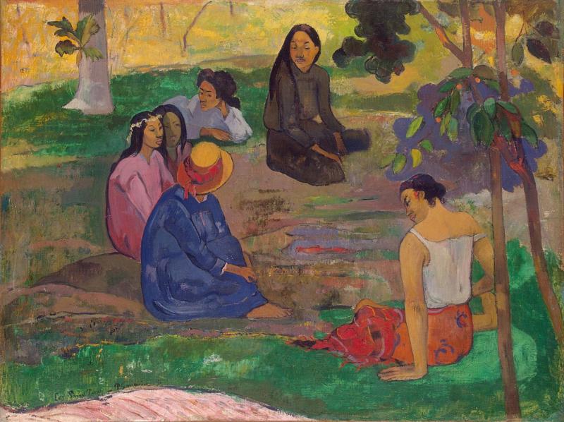 Gauguin, Het gesprek