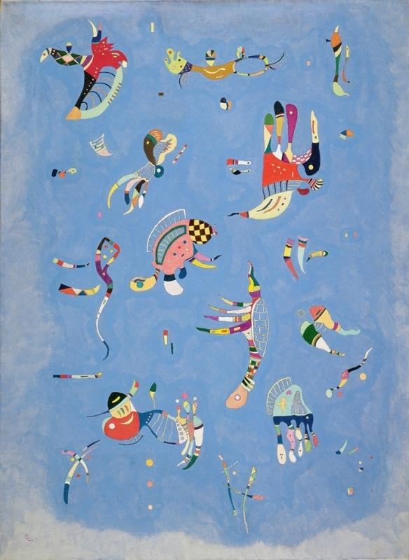 Kandinsky, Sky blue