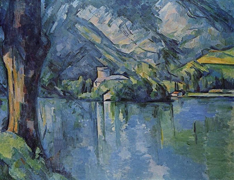 Cézanne, Het meer van Annecy