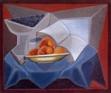 Gris, Fruit en boek