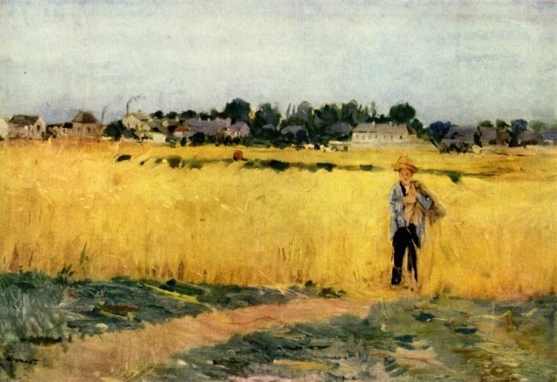 Morisot, Graanveld