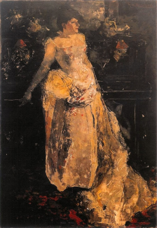 Breitner, Actrice Theo Mann-Bouwmeester