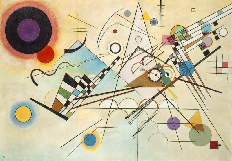 Kandinsky, Compositie VIII