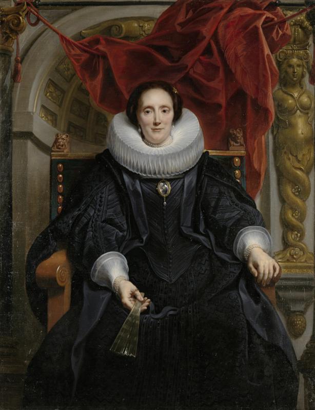 Jordaens, Portret van Catharina Behaghel