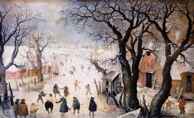 Avercamp, Winterlandschap