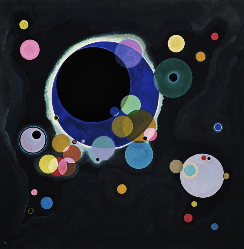 Kandinsky, Verscheidene cirkels