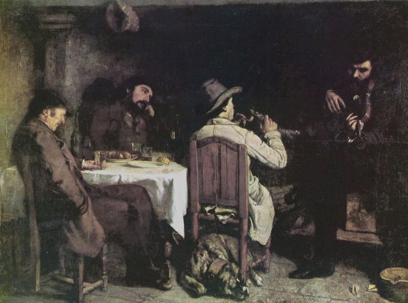 Courbet, Namiddag in Ornans
