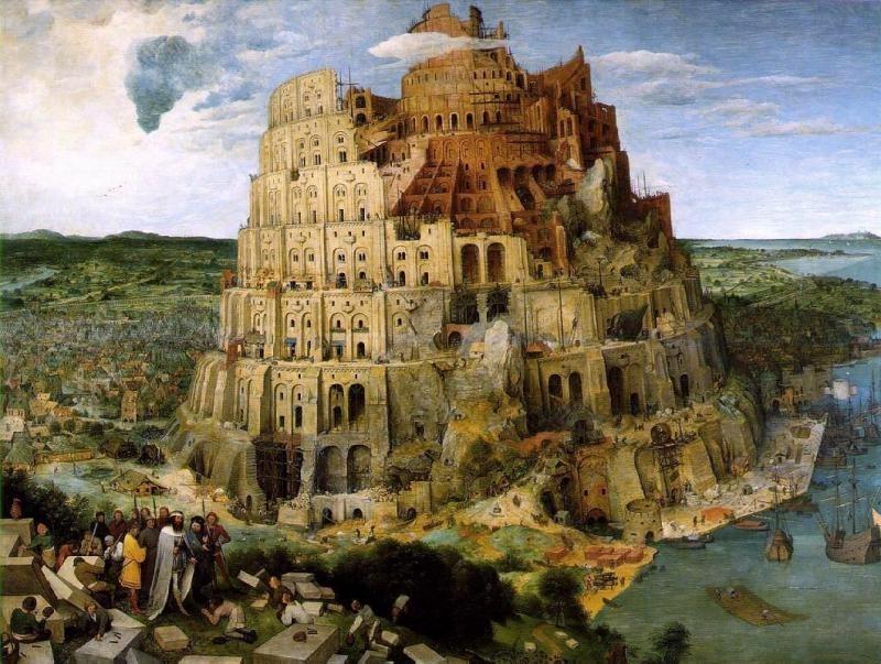 Bruegel, De toren van Babel